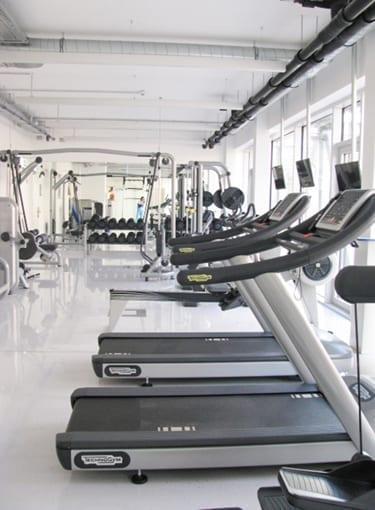 Fitnesscenter bei Schoeller-Bleckmann Oilfield Technology